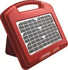 Speedrite S500 accu-apparaat met geïntegreerd zonnepaneel